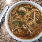 מרק סיני חמוץ חריף