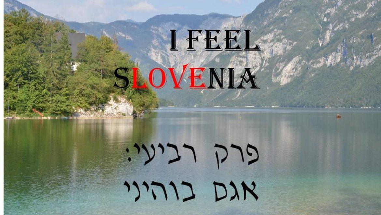 סלובניה פרק רביעי- חושבים חיובי באגם בוהיני